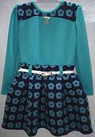 Платье нарядное трикотажное р. 6-7 лет
