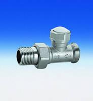 Клапан прямой отсекающий  для радиатора DN15 FIV