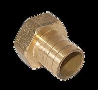 Штуцер латунный для шланга 1''В 25 мм