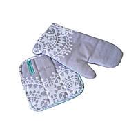 Набор прихватка и рукавичка Прованс by AndreTan