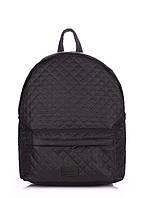 Молодежный Стеганый Рюкзак (backpack-theone-black)