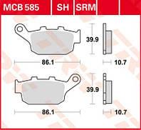 Тормозные колодки для скутера Honda FES TRW / Lucas MCB585SRM
