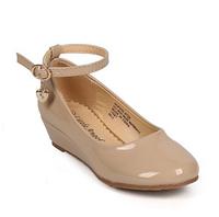 Нарядные лакированные туфли на платформе для девочки