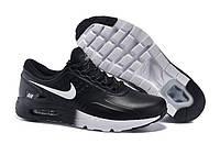Кроссовки мужские Nike Air Max Zero Black выполнены из натуральной кожи
