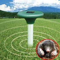 Отпугиватель кротов, змей, грызунов Solar Rodent Repeller на солнечной батарее, антикрот