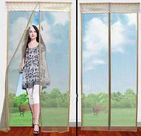 Магнитные шторы «magic mesh», антимоскитная сетка