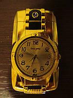 Часы зажигалка, оригинальный подарок