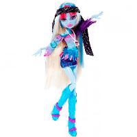 Кукла Monster High [Монстр Хай] Эбби Боминейбл ( Abbey Bominable) из серии Музыкальный фестиваль
