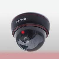 Купольная камера видеонаблюдения муляж, видеокамера обманка Dummy Camera Abtech DS-1500B