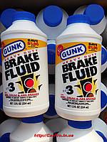 Тормозная жидкость ( для высоких нагрузок ) GUNK DOT-3 HEAVY-DUTY 354ml.