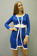 Молодёжные платья. Платье Элиз длинный рукав