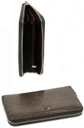 Бесподобный женский кошелек Cossrol искусственная кожа WD-1 grey