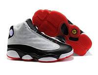 Кроссовки баскетбольные мужские Nike Air Jordan 6 белые с красным