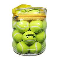 Мяч для большого тенниса Final, 12 шт. в сумке.