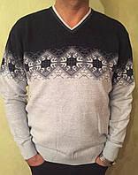 Мужские турецкие свитера - баталы.