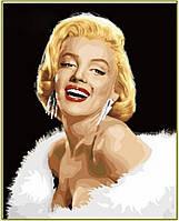 """Набор алмазной вышивки (портрет) """"Мерелин Монро"""""""
