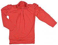 Гольфики для девочки с драпировкой р.98-116см