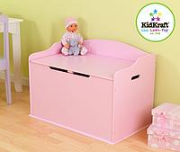 Детский ящик для игрушек Kidkraft Austin Toy Box Pink 14957