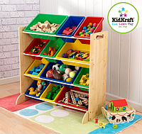 Детский стеллаж с ящиками для игрушек Kidkraft 16774