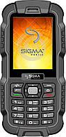 Защищенный Мобильный телефон Sigma X-treme DZ67 Travel black-black Гарантия 12 месяцев.