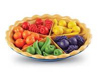 Learning Resources Super Sorting Pie/изучения цвета, счет, мелкая моторика