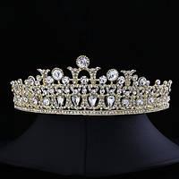 """Диадема (корона)  невесты """"Мозаика"""" свадебные украшения"""