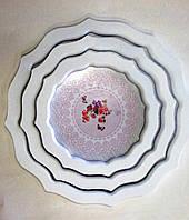 Набор подносов Прованс, 3 шт, D40/33/27 см, Аксессуары для кухни, Декор для дома, Днепропетровск