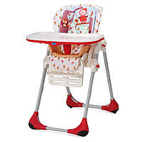 Детский стульчик для кормления Polly 2 в 1 Chicco Happy Land
