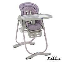Детский стульчик для кормления Polly Magic Chicco Lilla