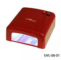 УФ Лампа для наращивания ногтей Lady Victory (36 Вт), 4 лампы, LDV UVL-08-01/0-51