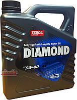 Синтетическое моторное масло TEBOIL DIAMOND 5W40 ✔ емкость 4л.