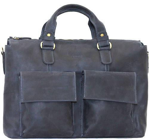 Мужская вместительная практичная сумка из высококачественной натуральной кожи VATTO MK25Kr600