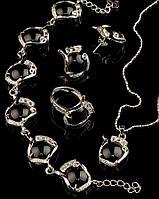 Женские украшения на подарок из камня агат