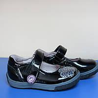 Детские кожаные туфли для девочки тм Lapsi 20р(12.5см стелька)