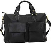 Мужская вместительная качественная сумка из высококачественной натуральной кожи VATTO MK25Kr670