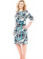 Женское платье  деловое  Белла   больших размеров 50, 52, 54, 56
