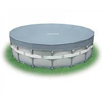 Тент-чехол (488 см.) Intex 28040 DELUXE для каркасных бассейнов