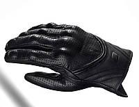 Мотоперчатки Shima Bullet Men кожа черные XXL