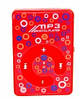 MP3- плеер Atlanfa AT-P24 цветной с прищепкой, red