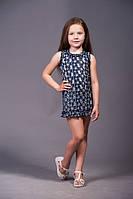 Красивое ажурное детское платье для девочки на лето