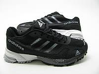 Беговые кроссовки адидас Marathon TR18 черно-серые