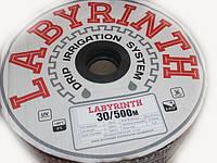 Капельная лента LABYRINTH 30см , 250 м, 8 mill (щелевая лента)
