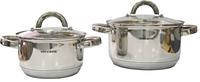 Набор кухонной посуды 4 пр. 1,9 л. +3,6 л.Vincent VC-3027