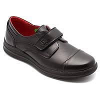 Подростковые туфли для мальчика, синие, размер 31-39