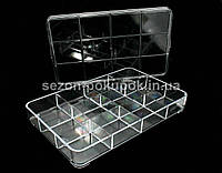 Органайзер для витрины, 12 ячеек (23 х 14 х 3,5см)