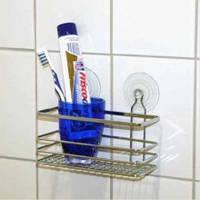 Полка для ванной комнаты Кассандра на присосках