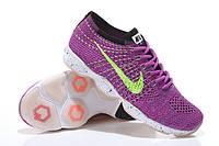 Кроссовки найк женские фри ран Nike Zoom Fit Agility Flyknit Purple