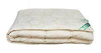 Одеяло пуховое Экопух 155х215см, 100% пуха кассетное (крем)