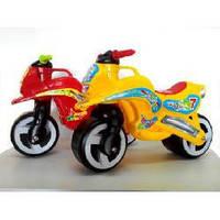 """Каталка детская """"Мотоцикл"""", Kinder Way 11-006 (7 цветов)"""