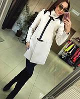 Пальто женское Диана молоко , пальто весна
